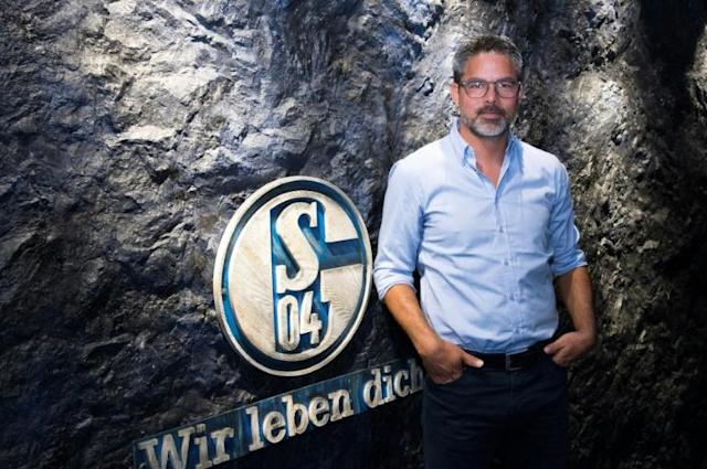 At the coalface: having steered former club Huddersfield to the Premier League, David Wagner has his work cut out turning around the fortunes of his new Bundesliga team Schalke 04. (AFP Photo/INA FASSBENDER)
