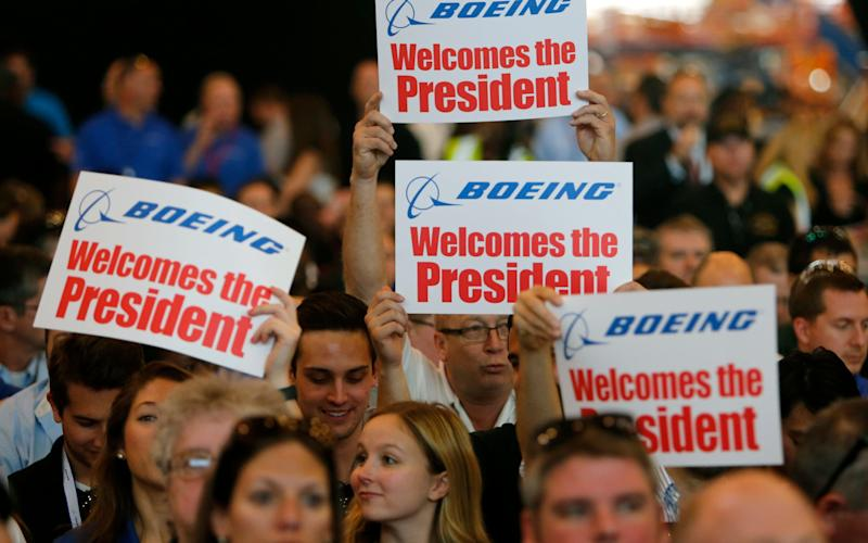 Boeing employees - Credit: AP