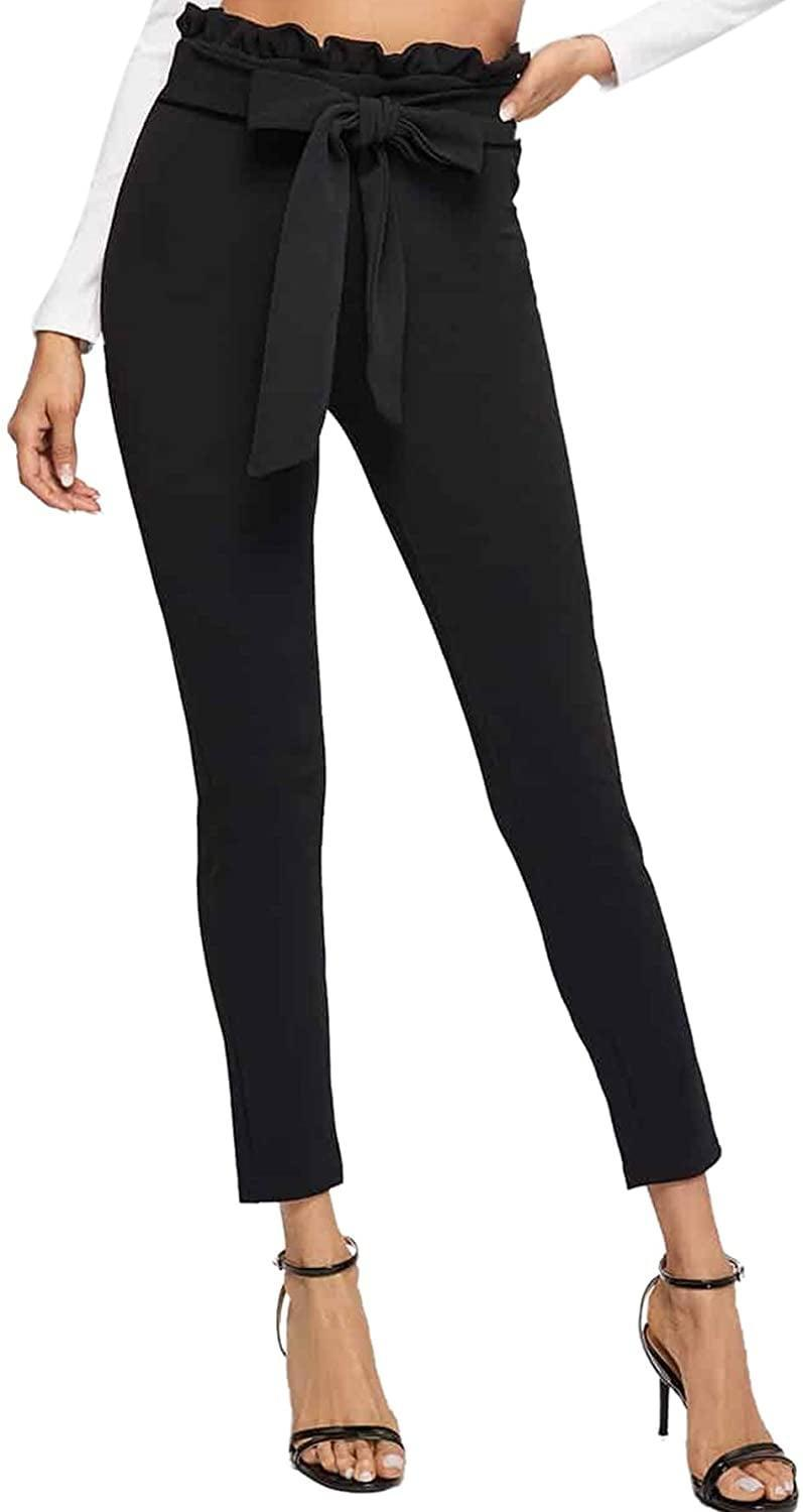 <p>You can't go wrong with these <span>Soly Hux High Waist Tied Front Paperbag Pants</span> ($26).</p>