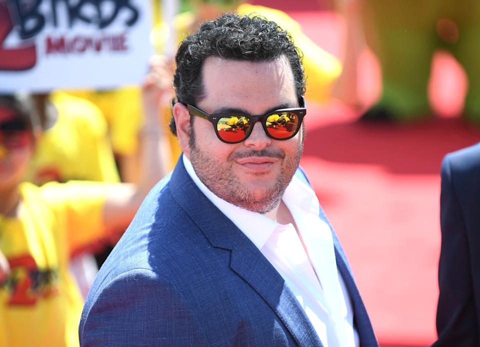 Actor Josh Gad poses for photographers during a photo call for the film 'The Angry Birds Movie 2' at the 72nd international film festival, Cannes, southern France, Monday, May 13, 2019. (Photo by Arthur Mola/Invision/AP)