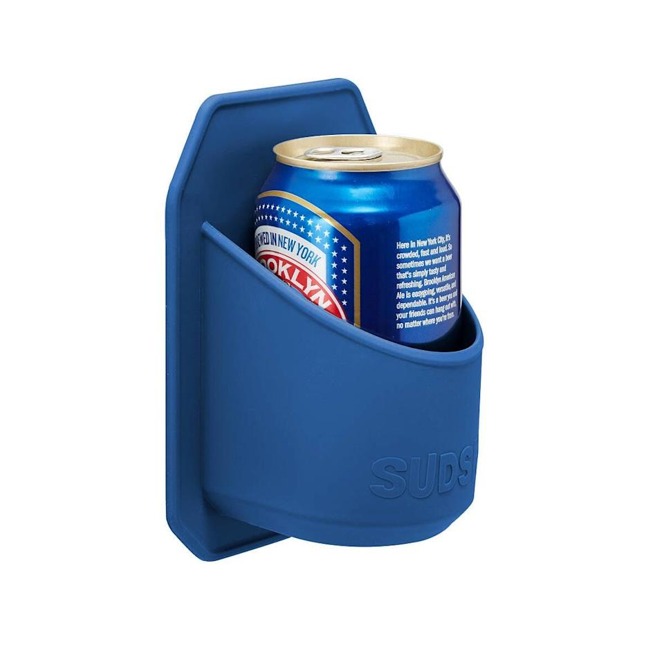 <p>There's nothing more relaxing than a shower beer. Enhance it with the <span>Shower Beer Holder</span> ($15).</p>