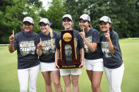 Best sport: women's golf (national champion). Trajectory: up. The Blue Devils rose for the second straight year, cracking the Top 10 in 2018-19 for the first time since 2013-14. In addition to the women's golf title, Duke was a top-four finisher in men's lacrosse and women's tennis, making for a productive spring. Basketball was a bummer — the men were upset short of the Final Four and the women had their worst season in 26 years, missing the NCAA tourney.