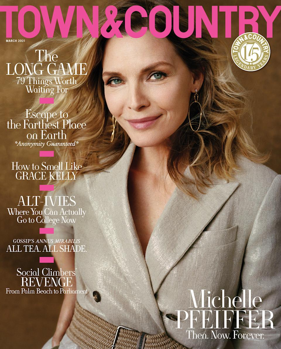 Michelle Pfeiffer covers