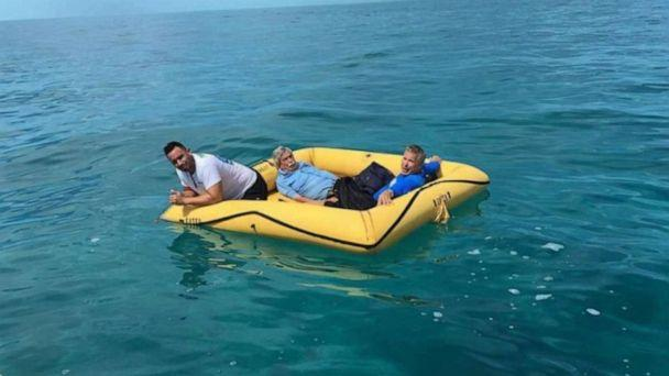 PHOTO: Three men were rescued by fishermen in the Bahamas after their plane crashed while headed to Miami on Thursday, Aug. 8, 2019. (Provided)