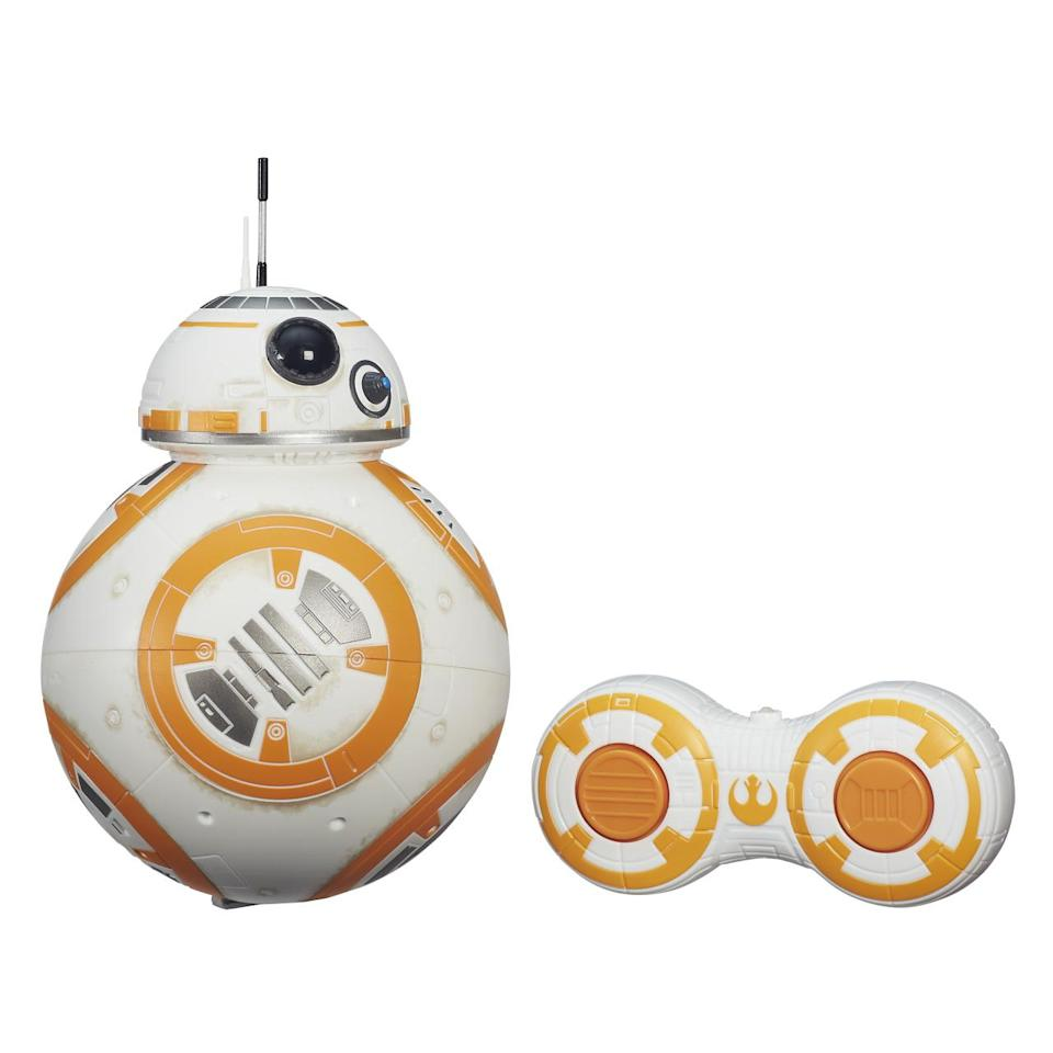 <p>There's also this version of the new 'Star Wars' droid, which you can operate with a remote control (exclusively at Target, from Hasbro). </p>