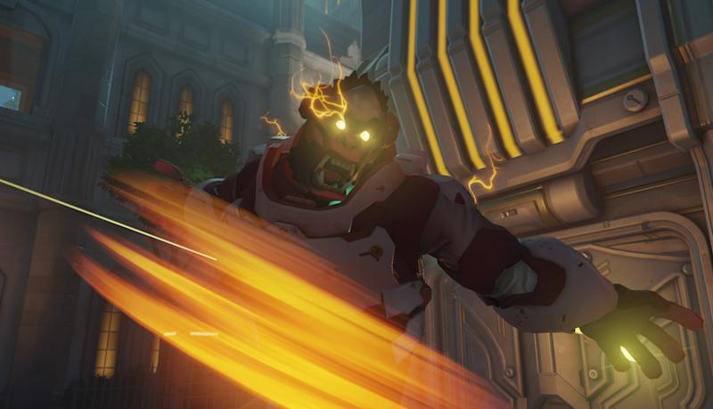 Winston may be joined by a new gorilla hero in the coming months (Blizzard)