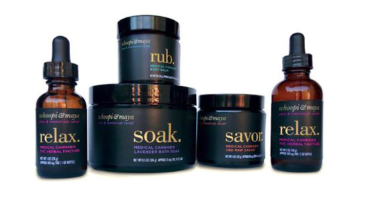 Whoopi Goldberg is launching a range of weed-infused period products [Photo: Whoopi & Maya]