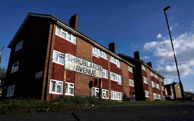 Shrublands Avenue, where the attack took place - Credit: REUTERS