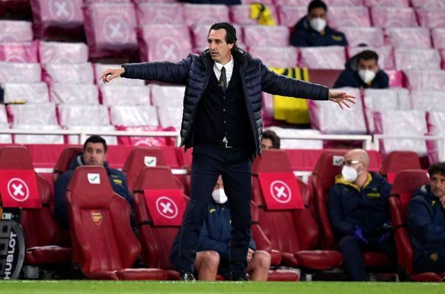Villarreal manager Unai Emery saw off former club Arsenal to reach the final.