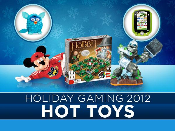 <b>Holiday Gaming 2012: 12 Hot Toys</b> <br><br>When the holiday season rolls around, three things are certain: too much turkey, Uncle Frank mouthing off about politics, and a torrent of hot, hot, in-demand toys. Here's a rundown of the top dozen playthings and board games that'll be selling out this year.