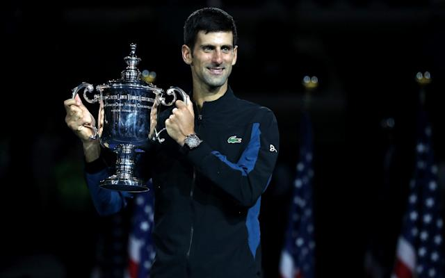 Novak Djokovic is the man to beat in men's tennis again - Getty Images North America