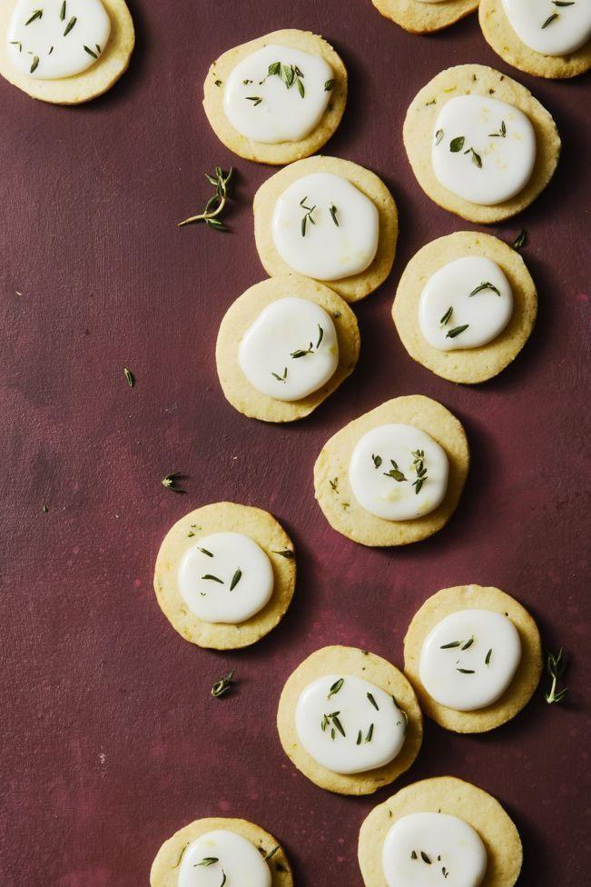 """<p>Put your herb garden to good use with these earthy, tangy cookie bites.</p><p><em><a href=""""https://www.goodhousekeeping.com/food-recipes/dessert/a25334012/lemon-thyme-coin-cookies-recipe/"""" rel=""""nofollow noopener"""" target=""""_blank"""" data-ylk=""""slk:Get the recipe for Lemon Thyme Coin Cookies »"""" class=""""link rapid-noclick-resp"""">Get the recipe for Lemon Thyme Coin Cookies »</a></em></p>"""