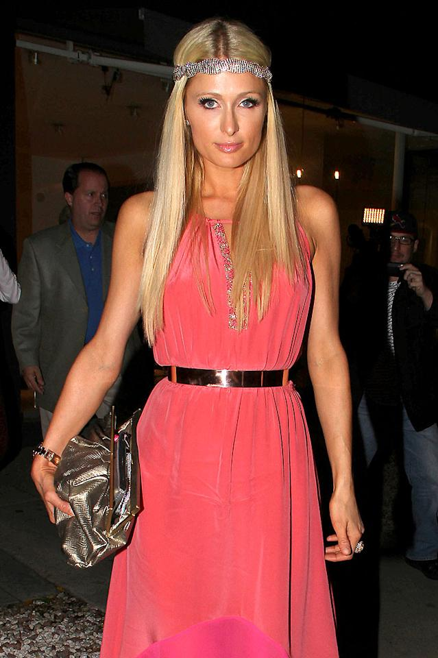 Can we all agree that the sparkly headband trend needs to disappear... as does Paris Hilton? (4/11/2012)