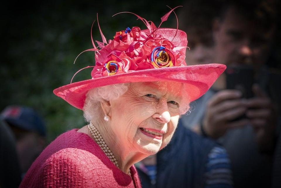 The Queen missed a military event due to weather concerns (Jane Barlow/PA) (PA Wire)