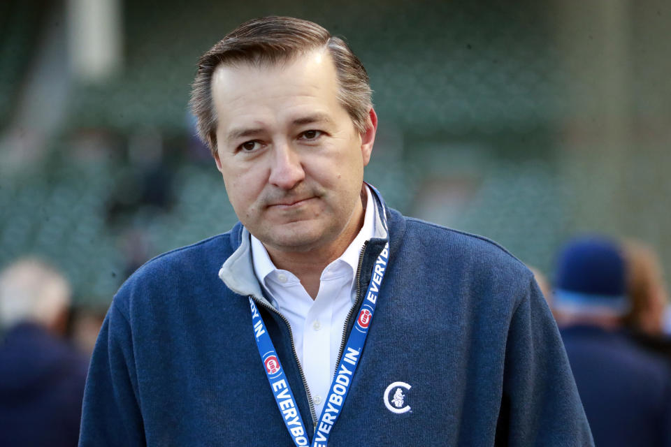 "Cubs owner Tom Ricketts says the losses around MLB are ""biblical."" (Nuccio DiNuzzo/Chicago Tribune/Tribune News Service via Getty Images)"