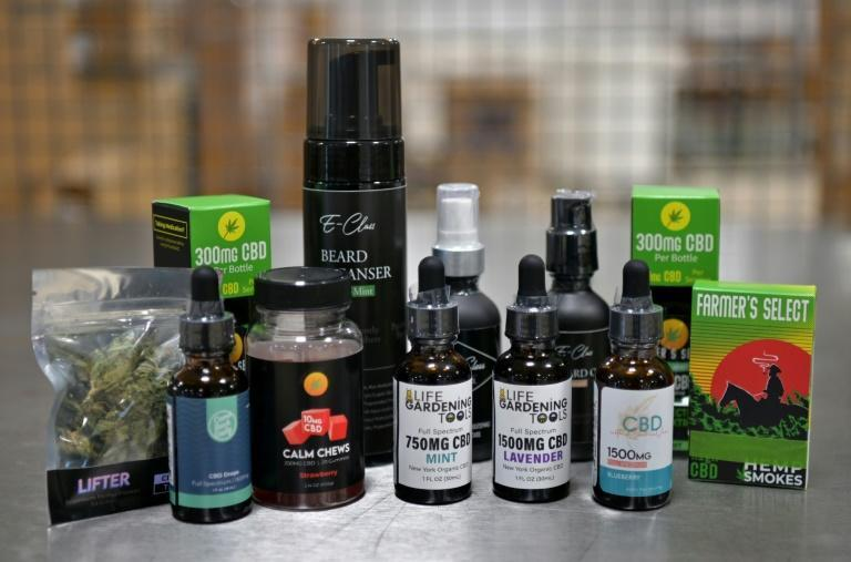 Empire Standard's line of CBD products