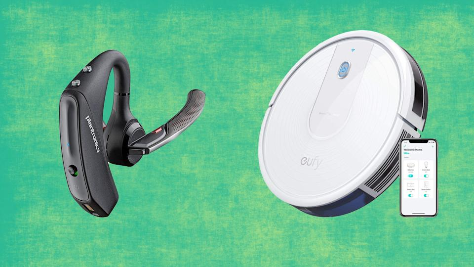 Our favorite Bluetooth headset and this easy-to-use robot vacuum are just some of the great deals you can find on Amazon today.