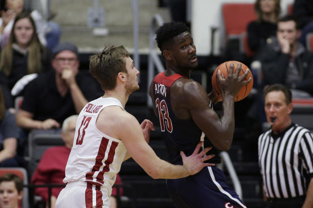 Ayton, 19, displays a soft shooting touch and capable post game. He should eventually develop into a capable NBA 3-point shooter. (AP Photo/Young Kwak)