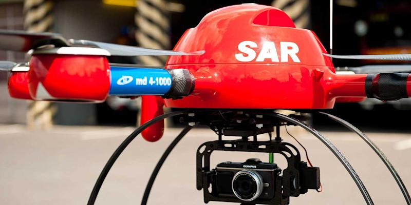 Drones to the rescue! German lifeguards test quadcopters for rescuing swimmers