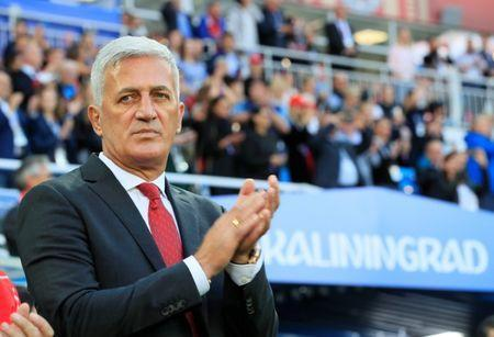 Soccer Football - World Cup - Group E - Serbia vs Switzerland - Kaliningrad Stadium, Kaliningrad, Russia - June 22, 2018 Switzerland coach Vladimir Petkovic before the match REUTERS/Gonzalo Fuentes