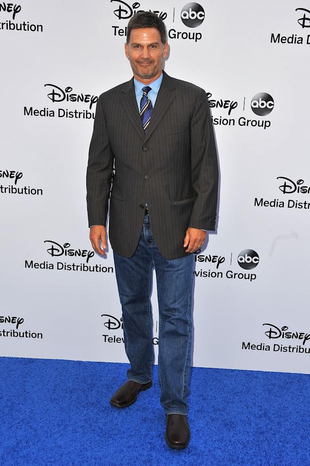 BURBANK, CA - MAY 19:  Actor D.W. Moffett arrives at the Disney Media Networks International Upfronts at Walt Disney Studios on May 19, 2013 in Burbank, California.  (Photo by Angela Weiss/Getty Images)