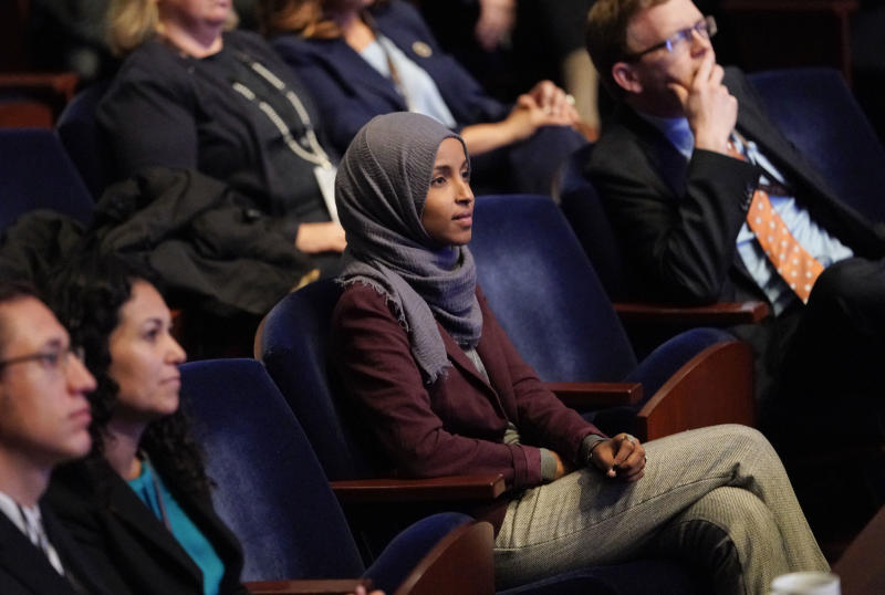 NY man charged for threatening call to Rep. Ilhan Omar's office