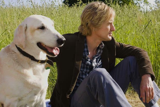 Owen Wilson Marley and Me