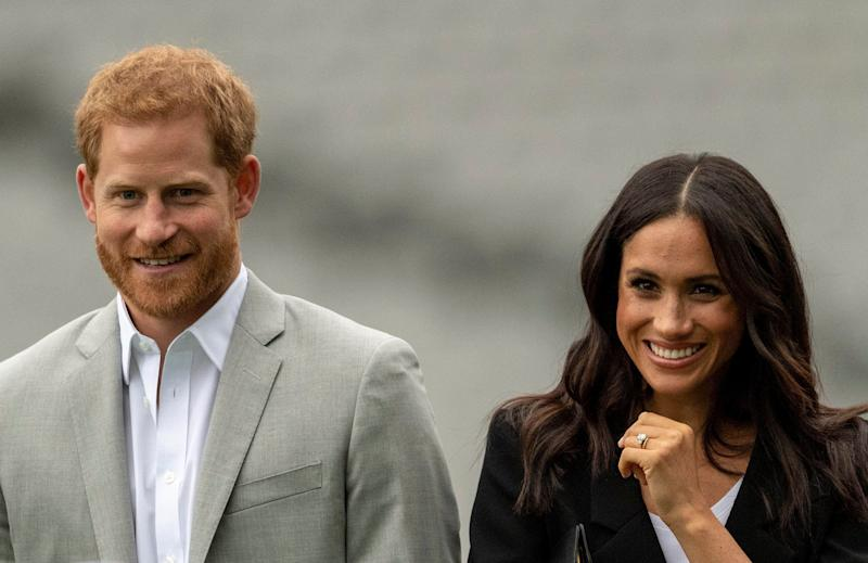 May 19th 2019 - Prince Harry The Duke of Sussex and Duchess Meghan of Sussex celebrate their first wedding anniversary. They were married at St. George's Chapel on the grounds of Windsor Castle on May 19th 2018. - File Photo by: zz/KGC-178/STAR MAX/IPx 2018 7/11/18 Prince Harry, The Duke of Sussex and Meghan Markle, The Duchess of Sussex visit Croke Park, the home of Ireland's largest sporting organisation: the Gaelic Athletic Association. (Dublin, Ireland)