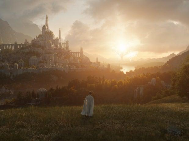 'Lord of the Rings' fans spot Trees of Valinor in first-look image (Amazon Prime Video)