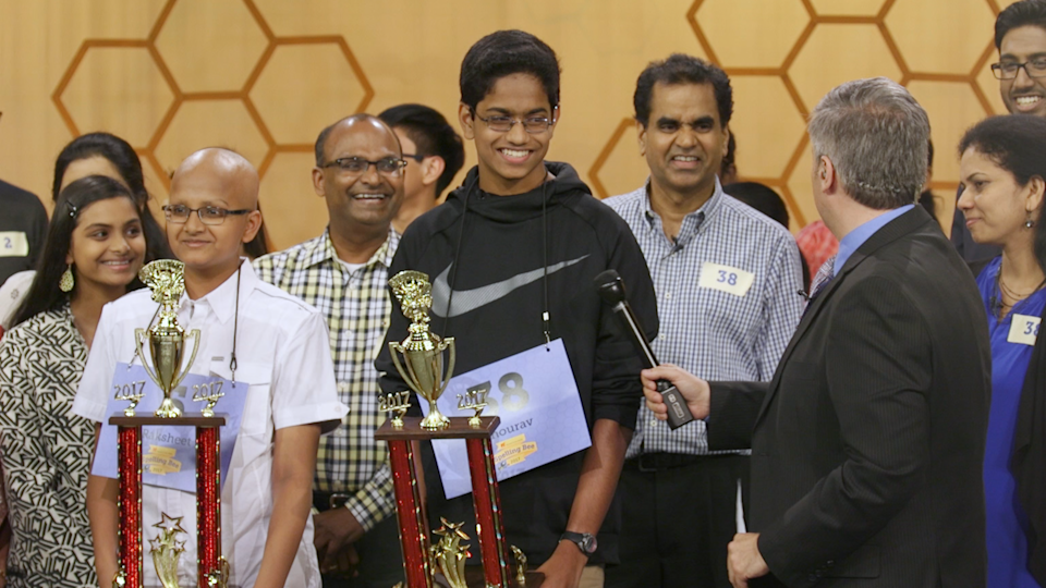Spelling the Dream is an intimate look at the phenomenon of Indian-American students dominating the Scripps National Spelling Bee finals for the past decade. (PHOTO: Netflix)