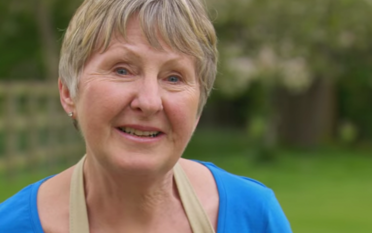 Val says farewell on The Great British Bake Off