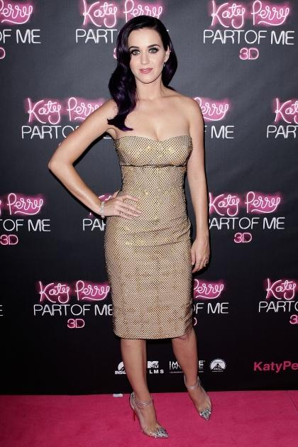 Katy Perry looks stunning at the premiere of 'Katy Perry: Part of Me' in Sydney, Australia on June 30, 2012  -- Getty Images