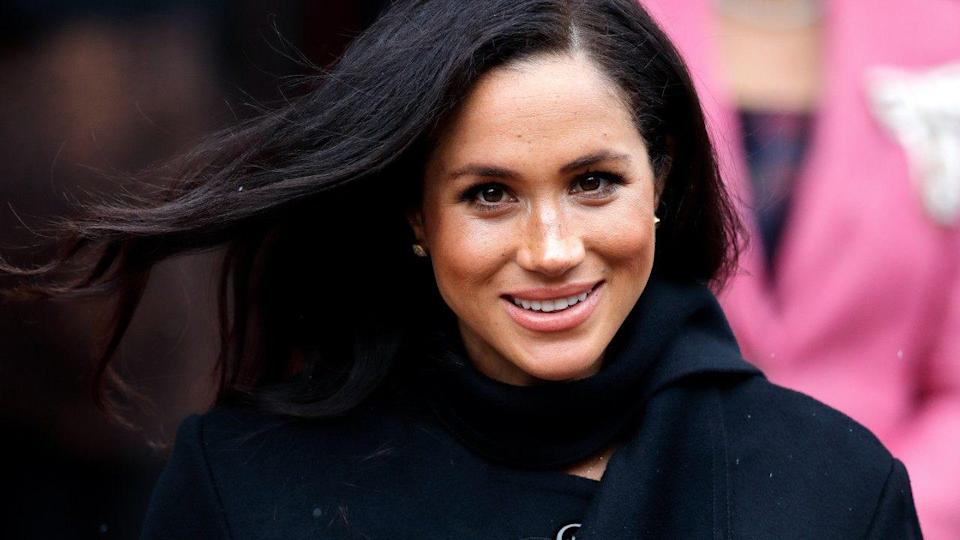 The Duke and Duchess of Sussex volunteered at the charity One25 in Bristol, England, on Friday.