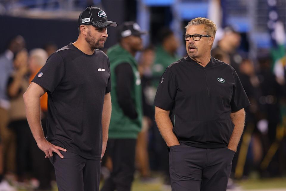 Adam Case, the Jets' head coach, is credited with firing defensive coordinator Greg Williams.  (Brad Benner / Reuters)
