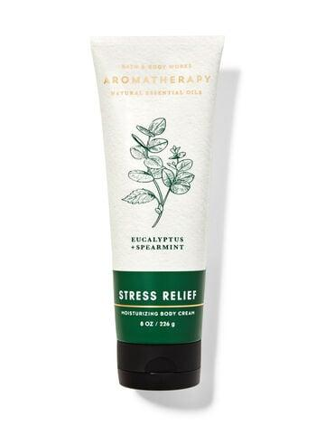 "<p>You're a really hard worker, so you need a scent like <product href=""https://www.bathandbodyworks.com/p/eucalyptus-spearmint-body-cream-026131623.html?cgid=body-cream#start=1"" target=""_blank"" class=""ga-track"" data-ga-category=""internal click"" data-ga-label=""https://www.bathandbodyworks.com/p/eucalyptus-spearmint-body-cream-026131623.html?cgid=body-cream#start=1"" data-ga-action=""body text link"">Bath &amp; Body Works Eucalyptus Spearmint Aromatherapy Body Cream</product> ($16) to help you unwind at the end of a long day. The eucalyptus in this cream will help clear your head while the spearmint scent is supposed to give you a slight mood boost.</p>"
