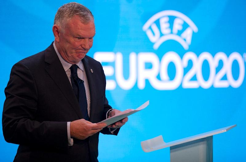 """FA Chairman Greg Clarke promised a """"top to bottom"""" cultural review of the FA's national football centre at St George's Park in Burton, central England (AFP Photo/JUSTIN TALLIS)"""