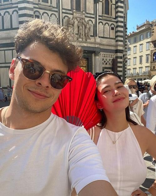 The actress is now happily dating Turkish boyfriend Norman Bay