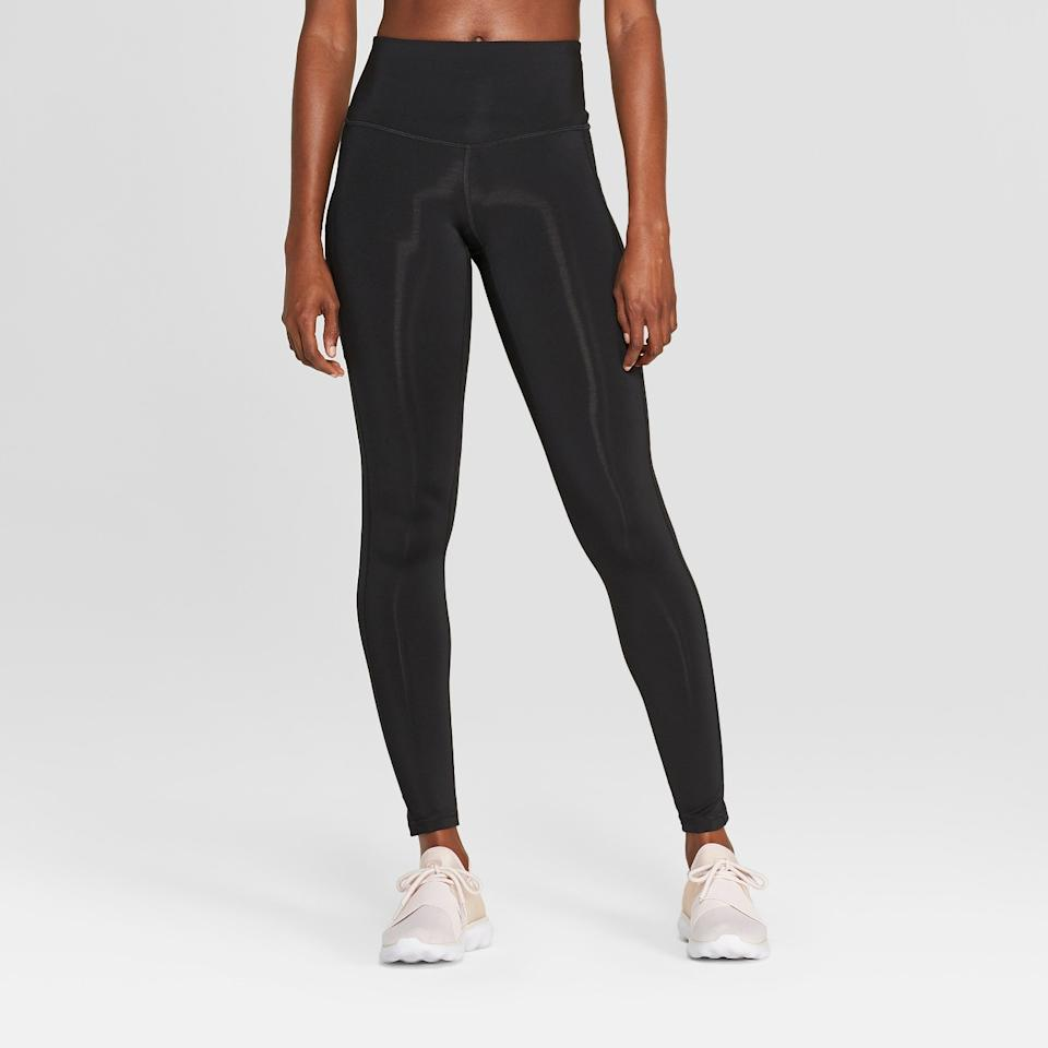 """<strong><h3>C9 Champion: The Performance Legging</h3></strong> <br>When you're in need of actual """"workout"""" leggings, turn to these. This performance pair comes with a high-waist and a nifty little side pocket to hold your cell phone in.<br><br><strong>The hype:</strong> 4.6 out of 5 stars and 661 reviews on Target<br><br><strong>What they're saying:</strong> """"This is a great tall girl legging option which other tall girls will know, are extremely hard to find. I am 6 ft, size 6 sometimes 8, and mediums are actually long enough and fit great. I bought 2 pairs and went back for 3 more because long leggings at such a reasonable price point is so rare. I use them mostly for lifting and cardio, but also prefer them to any other leggings for travel. The pocket is a huge plus, perfect size for an iPhone to listen to your music by Bluetooth while lifting. Please never discontinue these Target, its so hard for us tall girls to find leggings long enough, let alone ones that will hold up over time."""" - bcsideout, Target Review<br><br><strong>C9 Champion</strong> Training High-waisted Leggings, $, available at <a href=""""https://www.target.com/p/women-s-training-high-waisted-leggings-c9-champion-174-black/-/A-50929292?preselect=50889338#lnk=sametab"""" rel=""""nofollow noopener"""" target=""""_blank"""" data-ylk=""""slk:Target"""" class=""""link rapid-noclick-resp"""">Target</a><br><br><br><br><br>"""