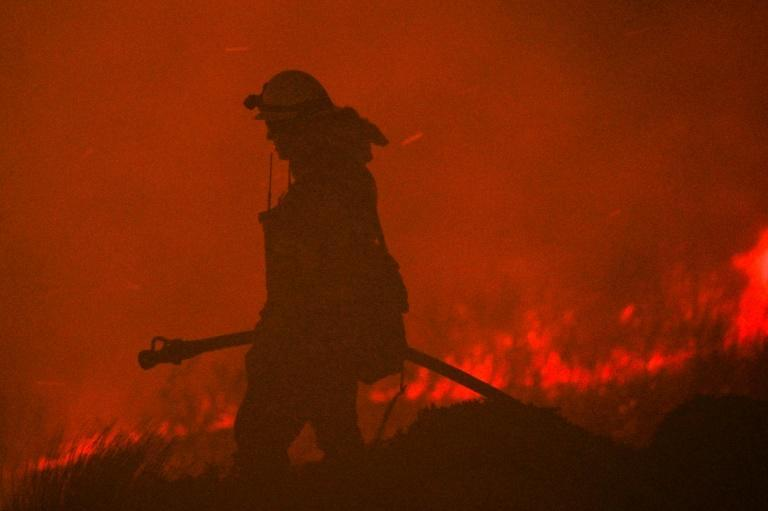 The Blue Ridge Fire north of Irvine, California has grown rapidly, scorching more than 6,600 acres and forcing evacuations