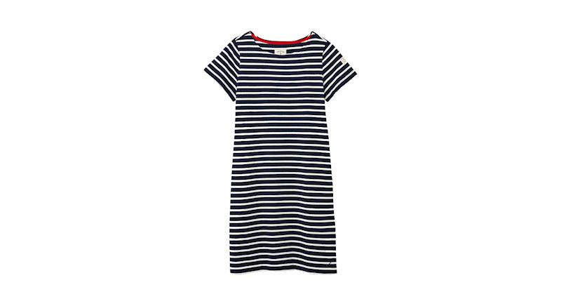 Joules Riviera Striped Jersey Dress