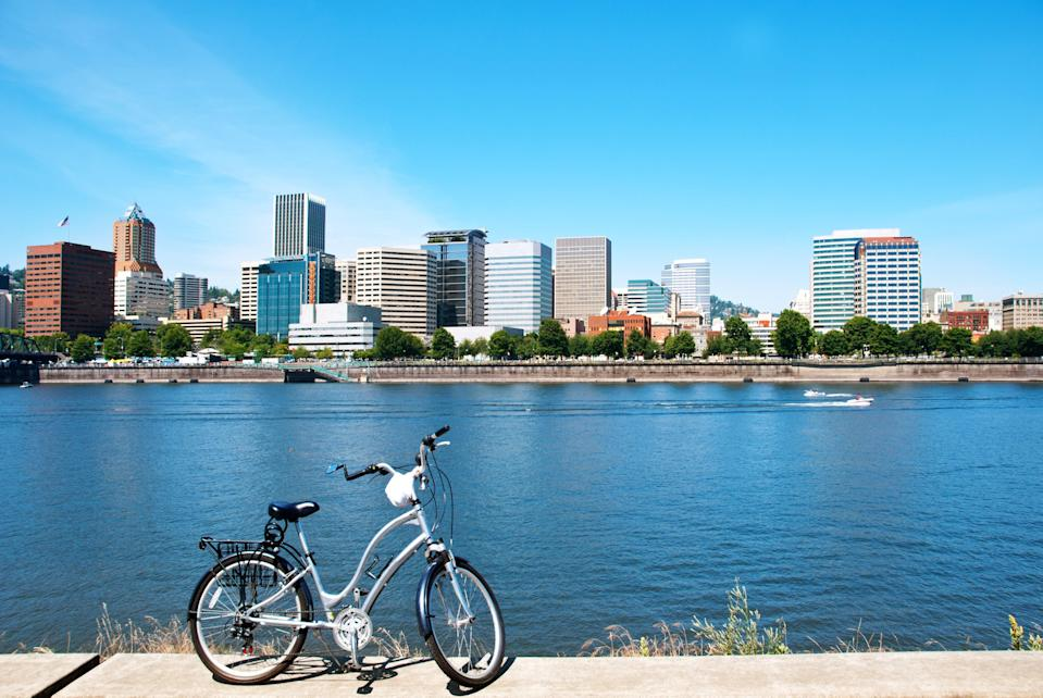"""<p><strong>What's the big picture here?</strong><br> From its easy online booking process to its carefully plotted routes, this bike tour company is all pro, without sacrificing the laid back, keep-Portland-weird vibe the city is so proud of. You'll meet your guide and fellow riders at Pedal's Oldtown office, set in a grand brick-walled historic building (you can street park, but if you don't want to worry about plugging your virtual Parking Kitty meter if you run over, opt for the SmartPark lot at SW 3rd and Alder). Bikes are in great shape, although if you're particular you can bring your own, and everything's included with the tour—helmets, locks, lights, pant leg straps, even raincoats if the famously fickle weather is proving temperamental.</p> <p><strong>How tough are these rides?</strong><br> Company founder and native Oregonian Todd Roll (yes, that's really his name)—an avid rider who fell in love with biking as a means of sightseeing while living in Europe, and authored Pedal Portland: 25 Easy Rides To Explore The City—promises that """"no spandex is required"""" on the tours. Routes, all designated as beginner-level and spanning roughly three hours and around ten miles, are gentle and perfectly-paced and guides are conscious of each rider's skill level, so whether you're a bit wobbly on your wheels or a retired Tour de France rider, you're in for a good time. Street clothes are perfectly suitable attire, although of course, if you really want to, you can wear your spandex.</p> <p><strong>How are the guides?</strong><br> Guides are clearly hired for their people skills as well as their easy-flowing knowledge of the Rose City, so the overall vibe is that of taking an informal city tour with a fun and confident friend who knows just about everything; the <a href=""""https://www.cntraveler.com/gallery/best-breweries-and-brewery-tours-in-portland-oregon?mbid=synd_yahoo_rss"""" rel=""""nofollow noopener"""" target=""""_blank"""" data-ylk=""""slk:best breweries"""" class=""""link rapid-noclick-r"""