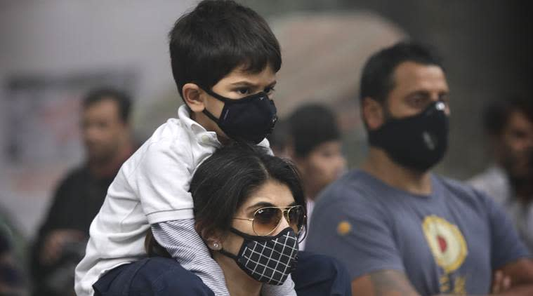 Meanwhile, air quality deteriorates in the city, likely to worsen today