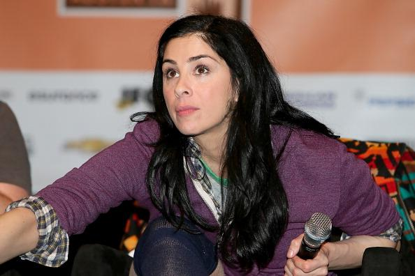 Sarah Silverman speaks during the Jash launch panel at the Palmer Events Center during South By Southwest Interactive Festival on March 10, 2013 in Austin, Texas.