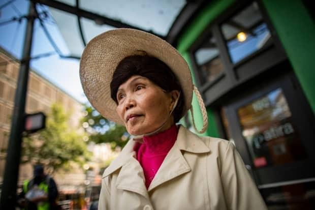 Judy Cheung is one of two women who spoke to CBC News after being assaulted in Vancouver's Chinatown. (Ben Nelms/CBC - image credit)
