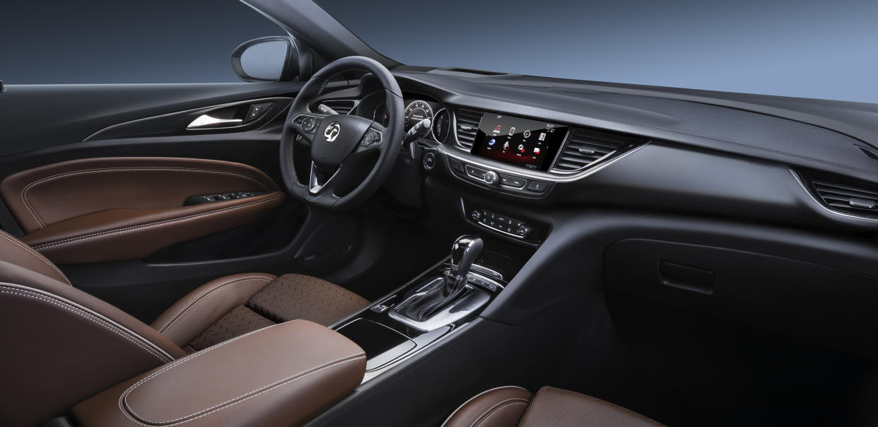 The interior is finished to a high standard