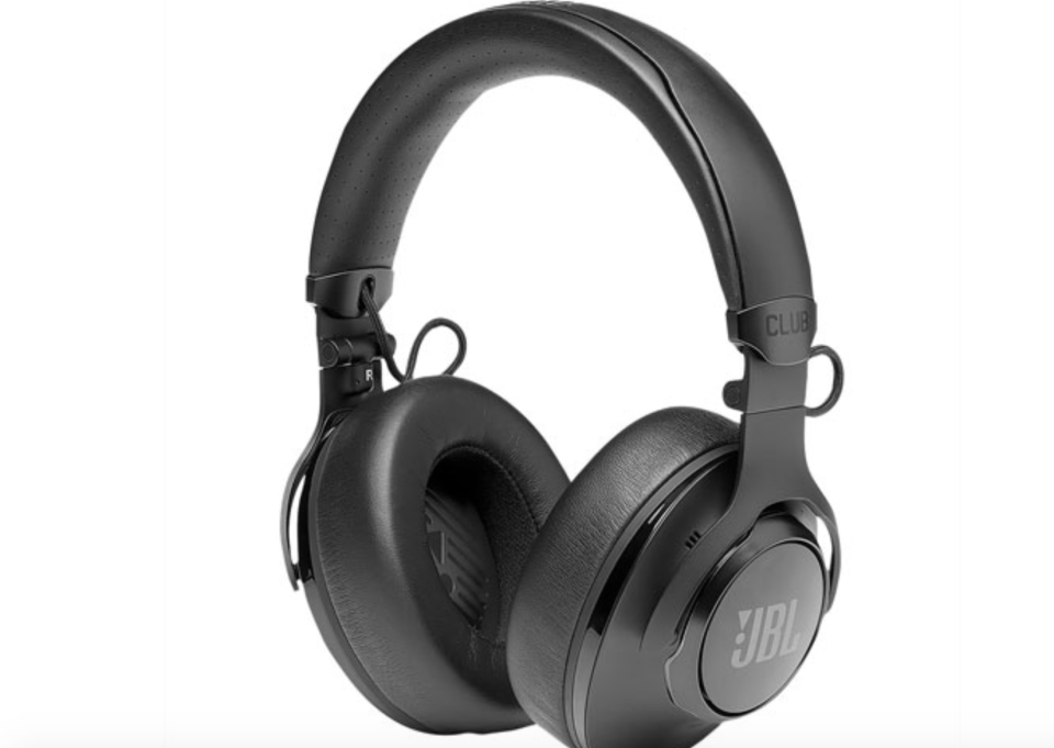 JBL Club 950NC Over-Ear Noise Cancelling Bluetooth Headphones - Black