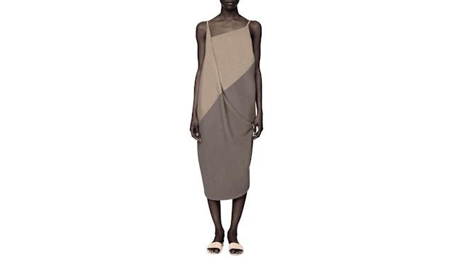 "<p>Recho Omondi is a Kenyan womenswear and accessories designer based in New York City. Her designs blend her African heritage and Western lifestyle into a contemporary, wearable fashion line. Omondi has gained notoriety in the industry as of late for her hand-stitched political statement sweatshirts.<br><br>Cashmere Two-Toned Slip Dress $420, <a href=""http://www.rechoomondi.com/shop/omondi-cashmere-two-toned-slip-dress"" rel=""nofollow noopener"" target=""_blank"" data-ylk=""slk:rechoomondi.com"" class=""link rapid-noclick-resp"">rechoomondi.com</a> </p>"