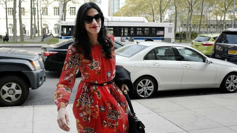 Huma Abedin files for divorce from Anthony Weiner after he pleads guilty to sexting teenager