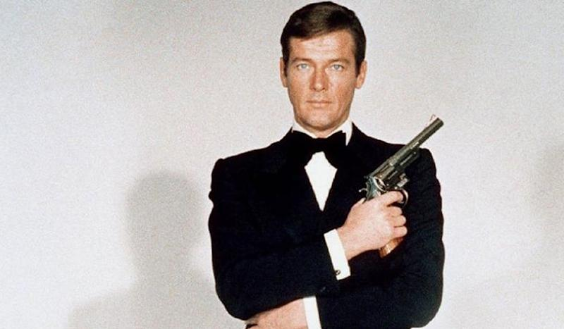 Sir Roger Moore as Bond... James Bond - Credit: MGM