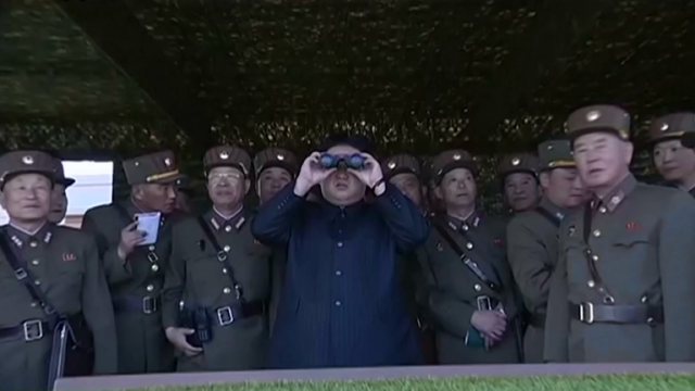 north-korean-leader-watches-live-fire-drills-as-tensions-mount